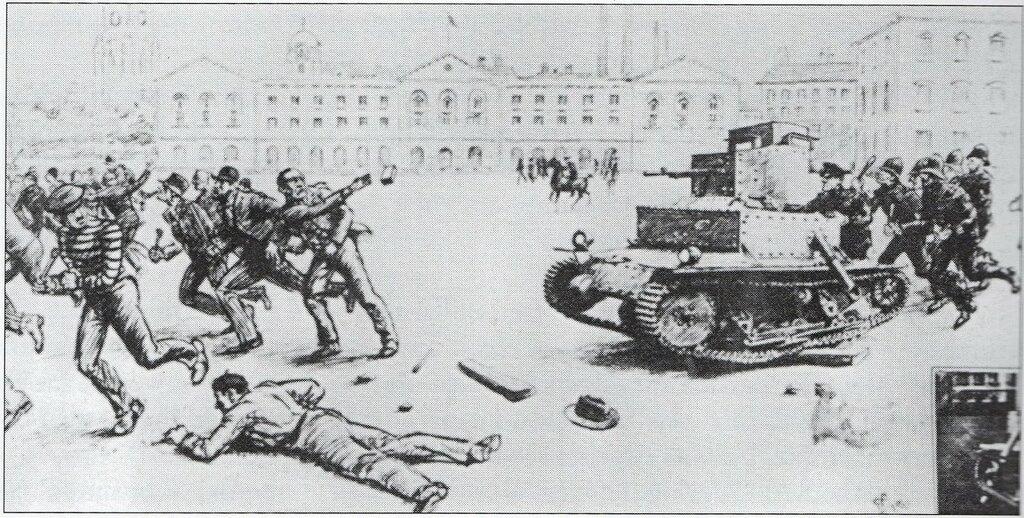 Police Tank ad