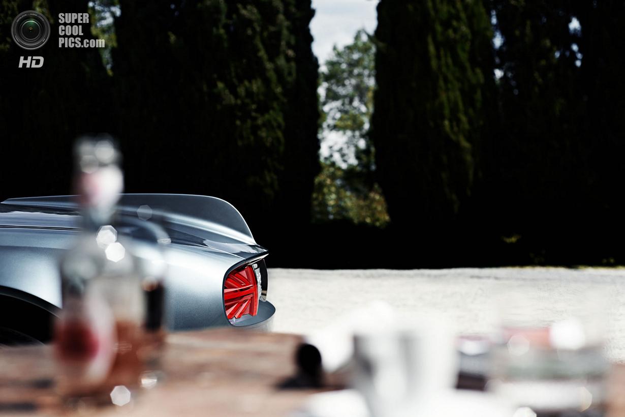 Родстер в стиле ретро от MINI (18 фото + HD-видео)