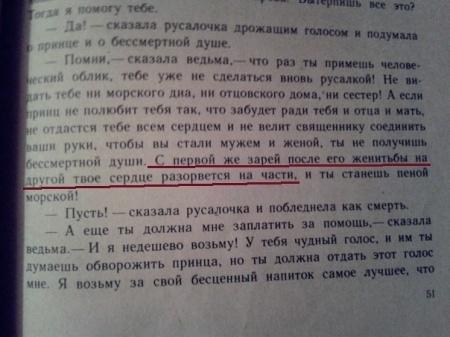 Книга Андерсен. Русалочка.