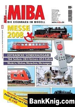 Журнал MIBA. Die Eisenbahn im Modell 2008 Messe Spezial pdf (e-book) 27Мб