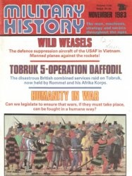 Книга Military History - November 1983
