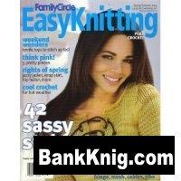 Журнал Family Circle Easy Knitting - Plus Crochet - Spring/Summer 2004