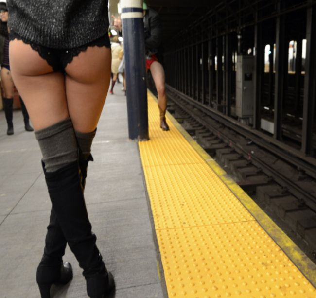 The No Pants Subway Ride