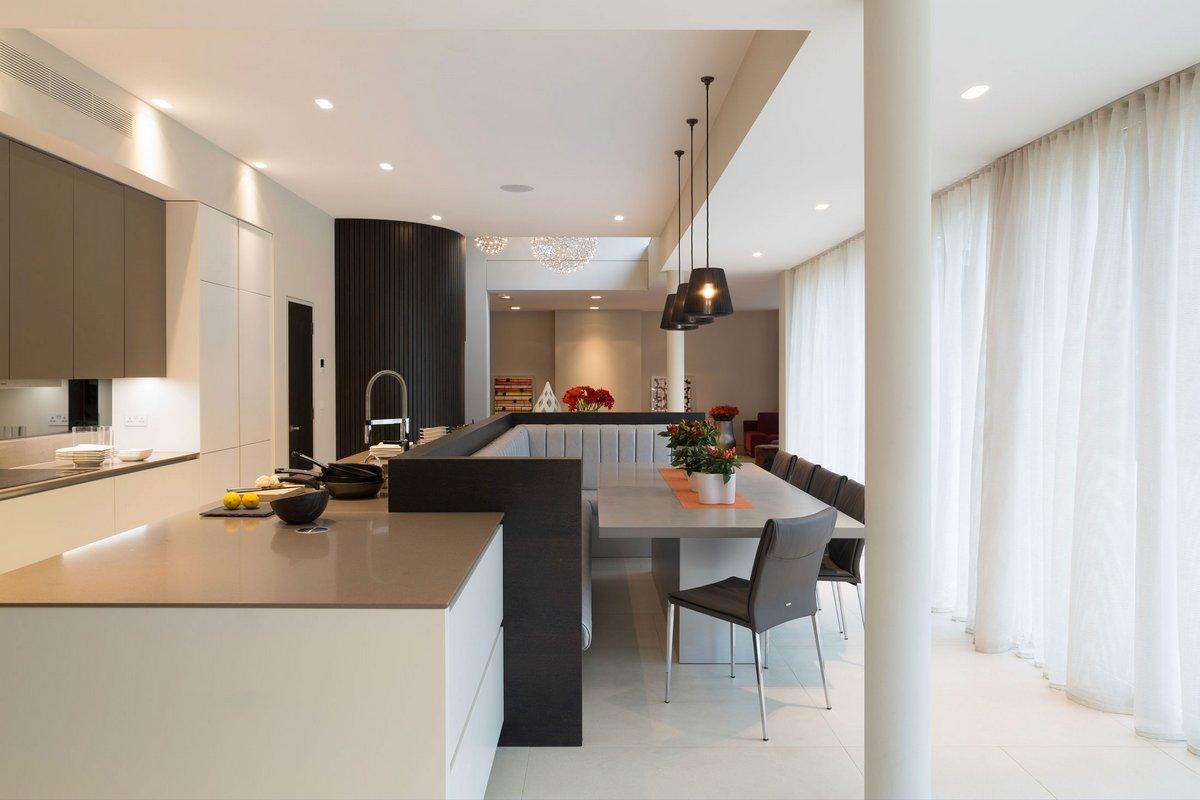 Staffan Tollgard Design Group, Totteridge Home, британский интерьер, интерьер по-английски, строгий стиль интерьера, классический интерьер квартиры