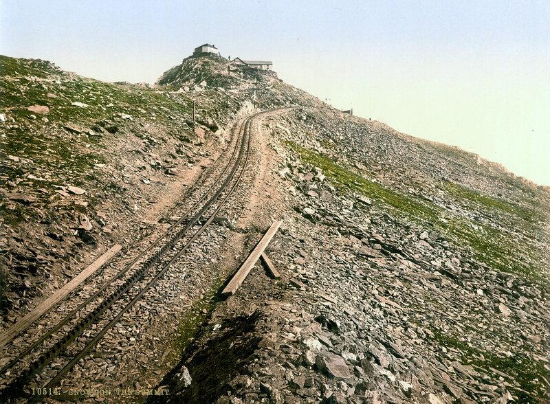 29. Железная дорога на вершину горы Сноудон