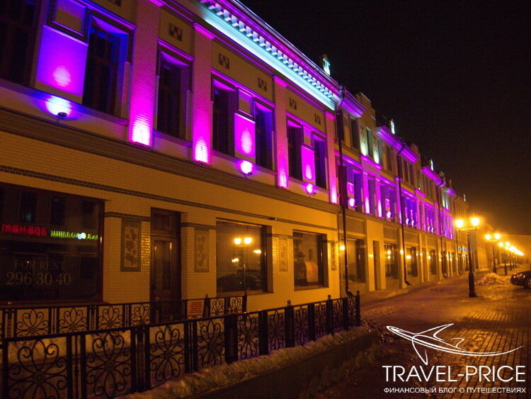 ночная улица Баумана