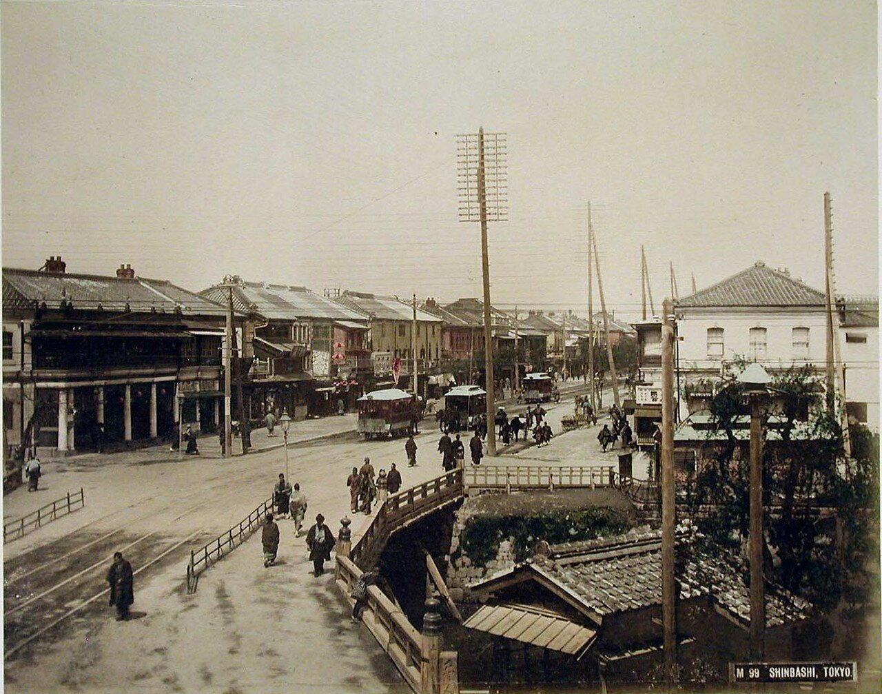Токио, Симбаси. 1890-е