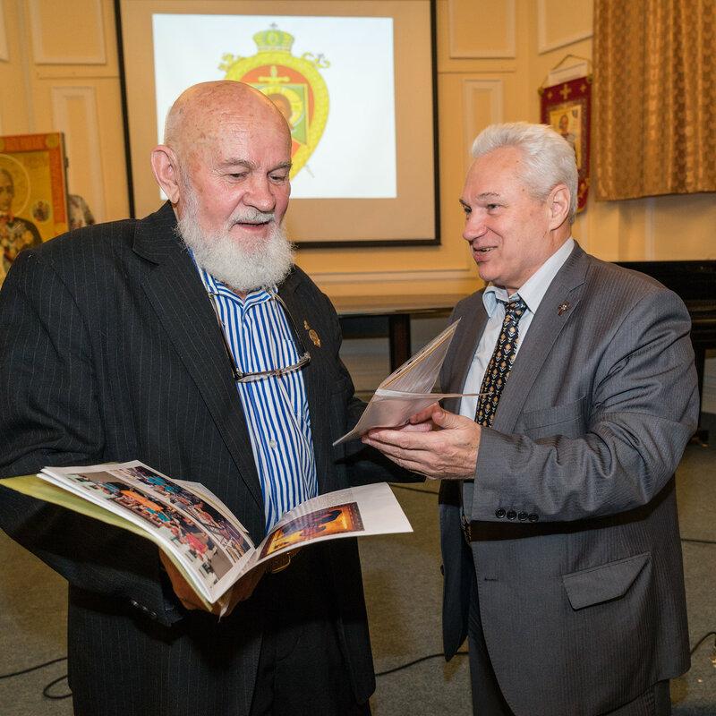 Финоченко Евгений Александрович, руководитель «Суворовского Центра» и генерал-майор Черкасов Александр Владимирович