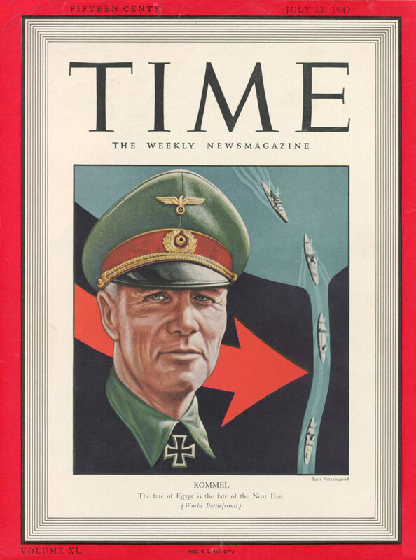 Генерал-фельдмаршал Роммель, журнал ТАЙМ