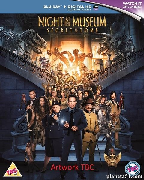 Ночь в музее: Секрет гробницы / Night at the Museum: Secret of the Tomb (2014/BDRip/HDRip)