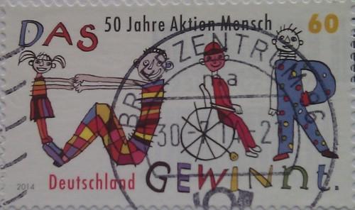 2014 50-летие Aktion Mensch 60