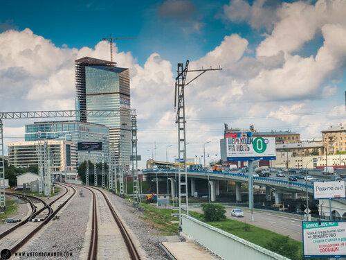 МКЖД. Moscow City