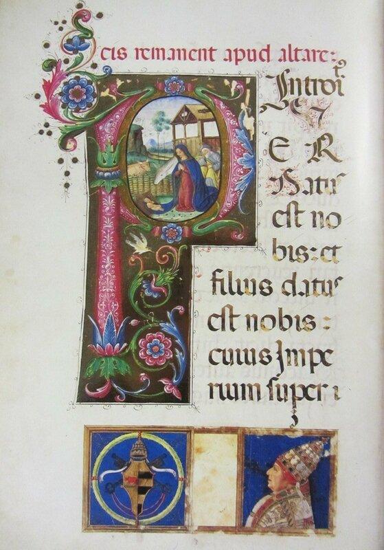 Christmas Missal of Pope Alexander VI