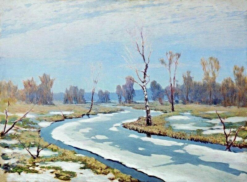 Архип Иванович Куинджи  Ранняя весна. 1890-1895..jpg