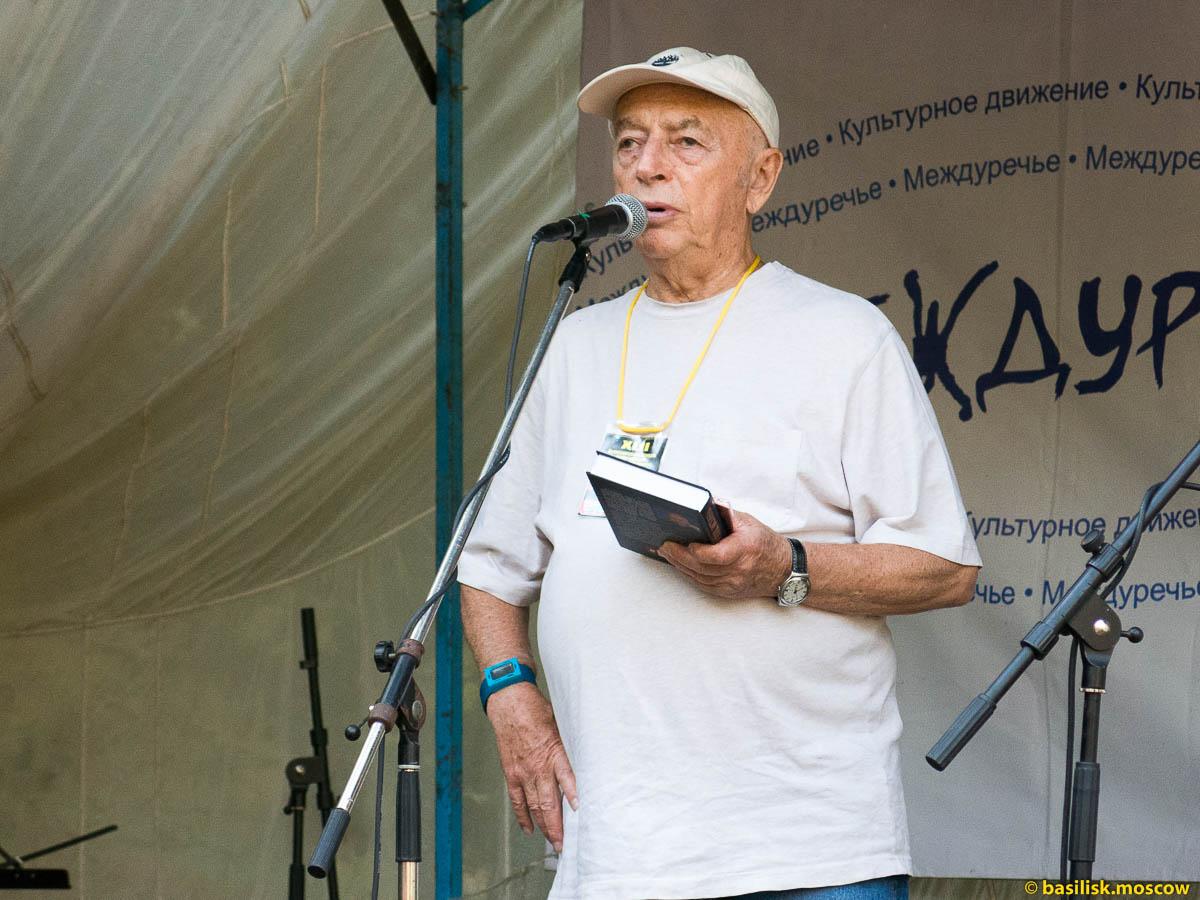 Александр Городницкий. Июль 2015.