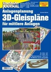 Журнал Eisenbahn Journal. Anlagenbau & Planung. 3D-Gleisplane fur mittlere Anlagen. Teil 1