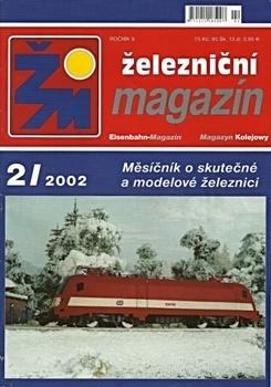 Журнал Zeleznicni magazin 2002-02