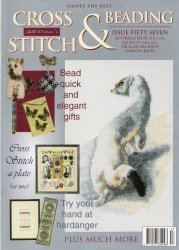 Книга Simply the Best Jill Oxton's Cross Stitch & Beading - Issue No. 57