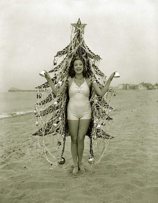 Пляж Калифорнии, 1936.
