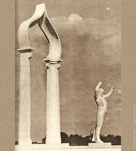 Памятник Степану Дегтяреву - авторский конкурсный проект