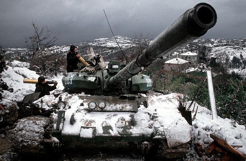 Guerre civile au Liban 1989