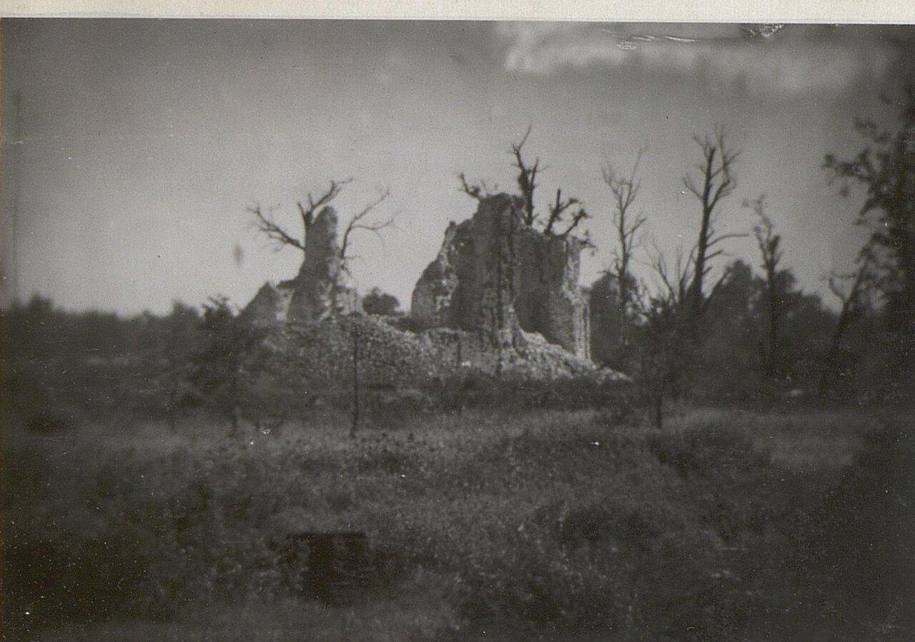 Гулевка. Развалины церкви