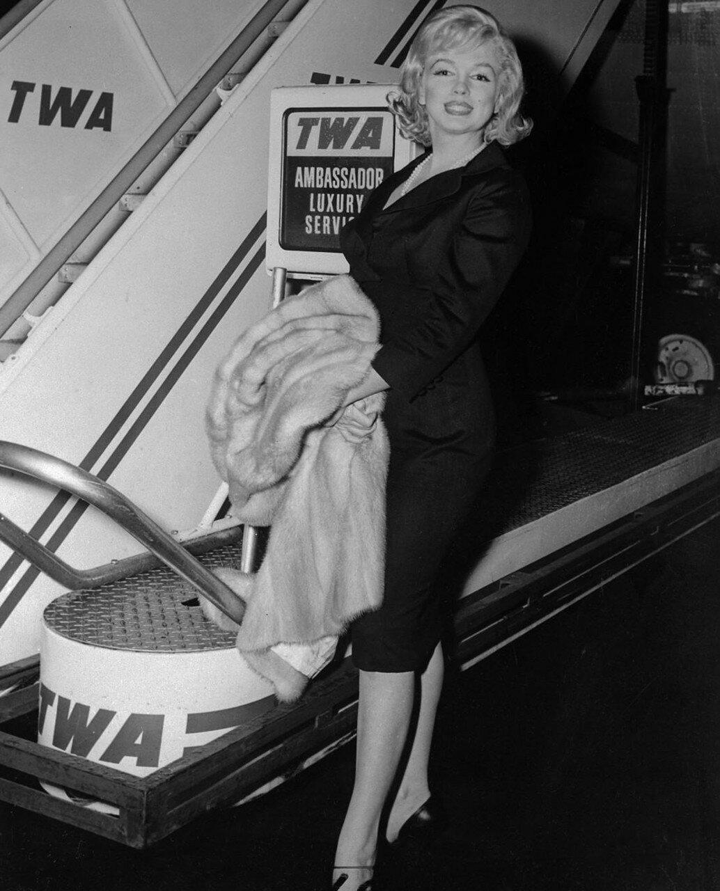 Marilyn Monroe at TWA Terminal