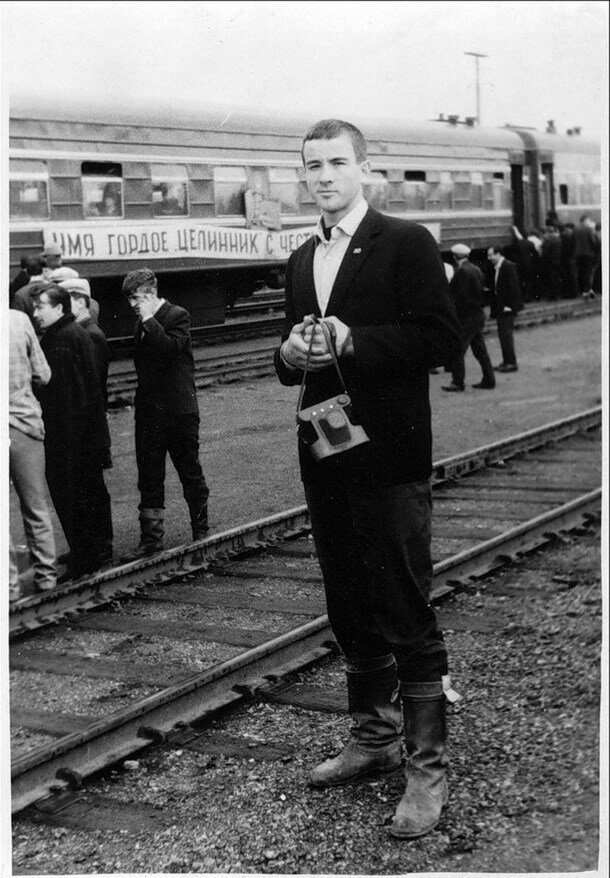 1966. Стройотряд. Остановка в пути