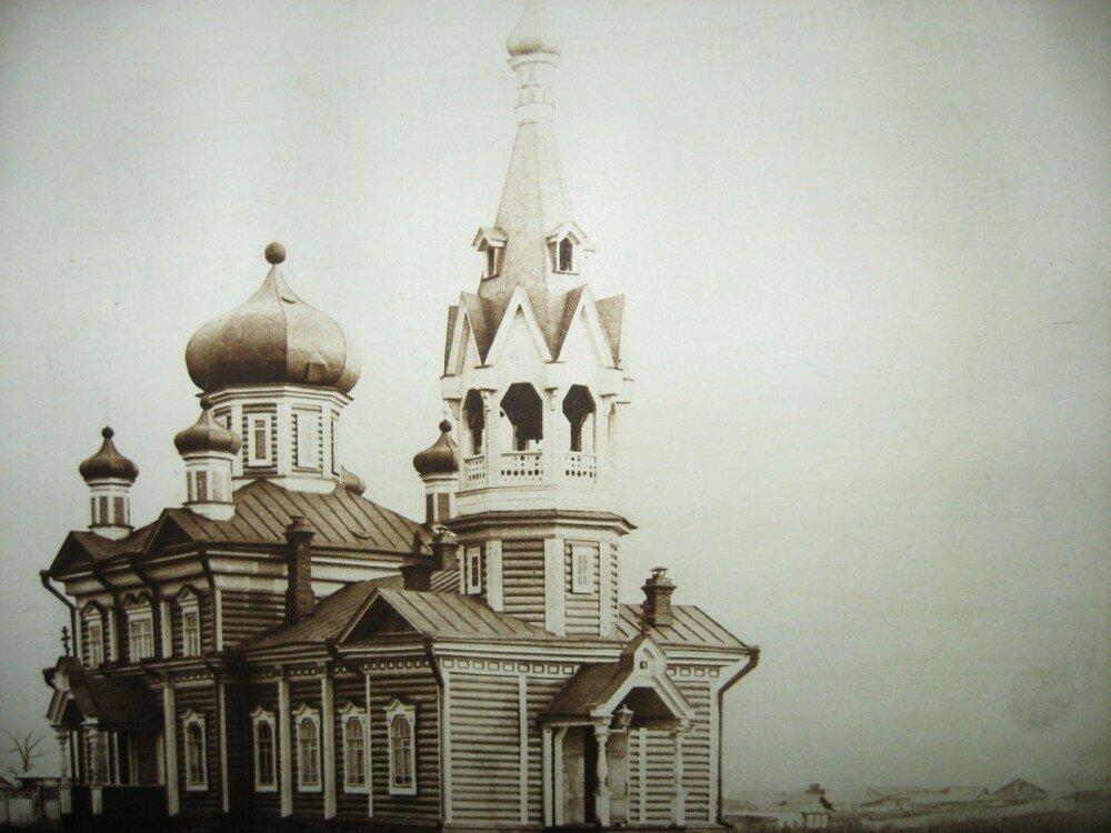 07. Город Алексеевск. Церковь