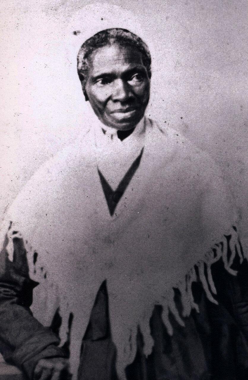 1870.  Соджорнер Трут, американская аболиционистка и феминистка, рождённая в рабстве