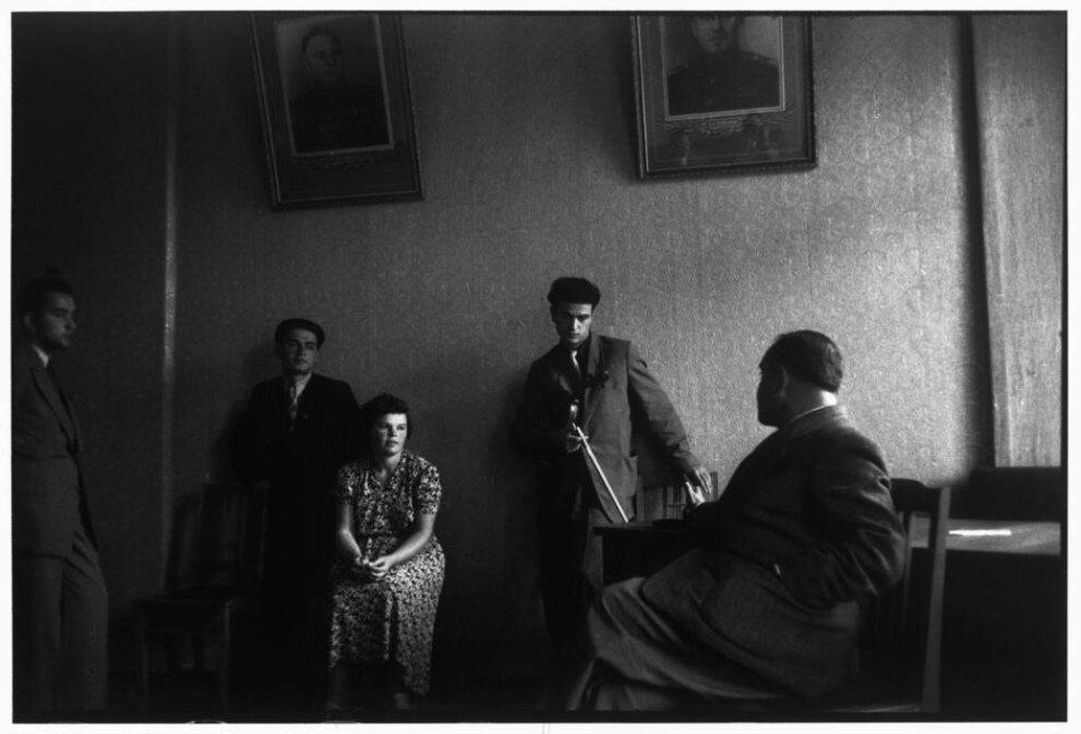 1954. Москва. Московская консерватория. Скрипач Давид Ойстрах и его ученики