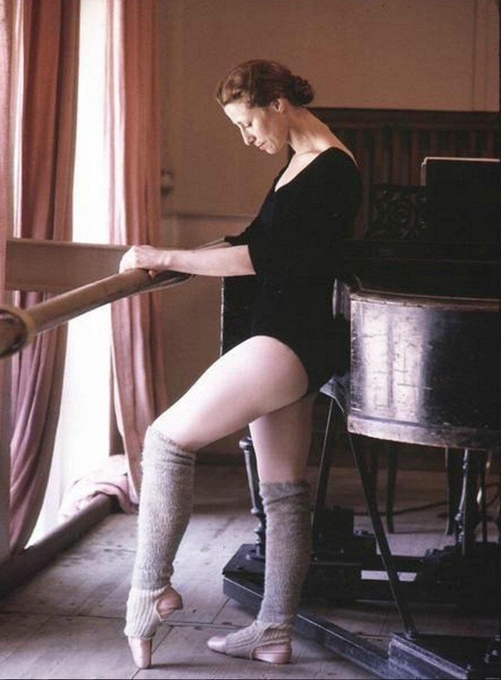 Москва. Майя Плисецкая, всемирно известная балерина
