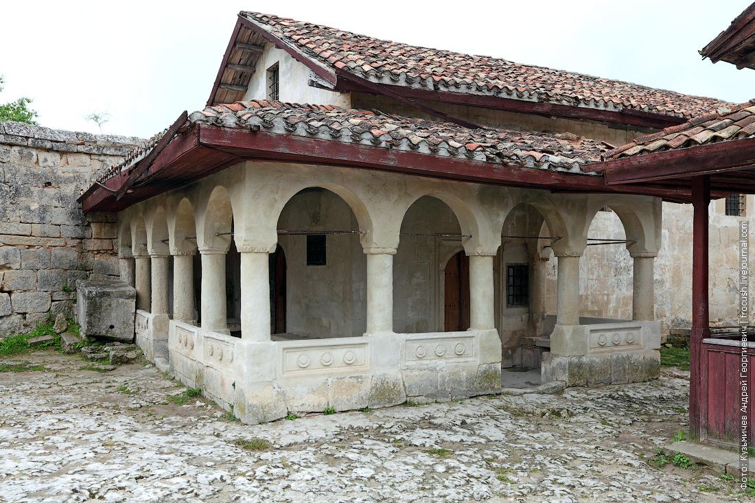 Кенасса караимский храм Чуфут-Кале