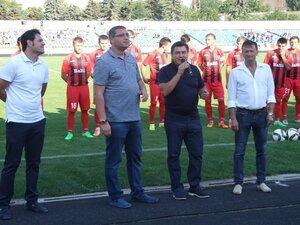 Ренато Усатый занялся возрождением футбола в городе Бельцы