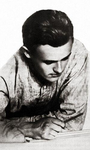 13 Сергей Королев во время учебы в МВТУ. Москва, 1929 г..jpg