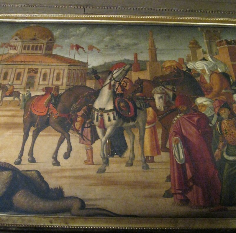 a description of vittore carpaccio born around venice italy St ursula engaged, 1495, vittore carpaccio: i'm in the process of doing my homework in three days, my wife and i fly too venice, italy thus i'm trying to.