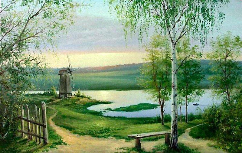 Белорусский художник Олег Чувашев. Нежные пейзажи и натюрморты 0 1110bc d94f3aaa XL