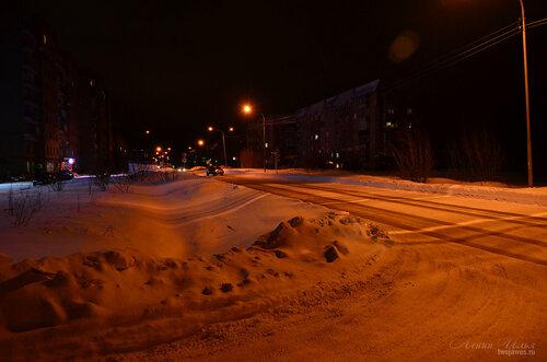 Фото города Инта №7329  Та же точка съёмки (Куратова 48 и 41) 22.12.2014_17:27