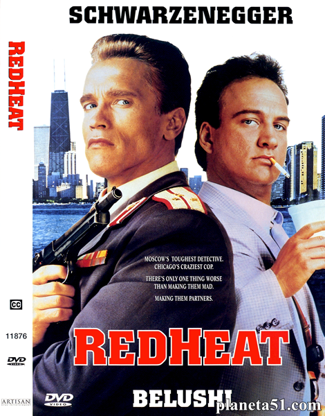 Красная жара / Red Heat (1988/BDRip/HDRip) + AVC