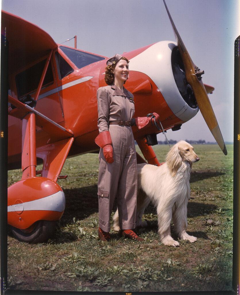 Fairchild Model 24 on the ground