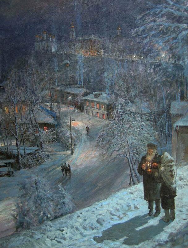 Виктор Лукьянов - Рождество, 2001 г.