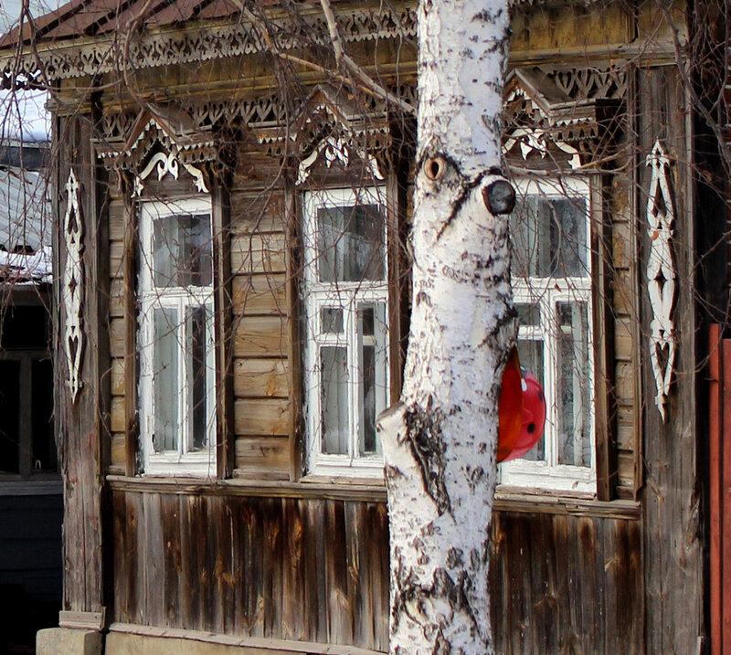 Улица Рабочая. Фото 25 февраля 2015 года