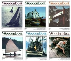 Журнал WoodenBoat Magazine Full Year Collection No 1-6 1980