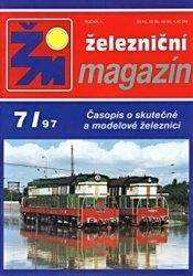 Журнал Zeleznicni magazin 1997-07