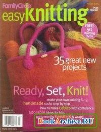 Журнал Family Cirkle Easy Knitting. Holiday 2005.