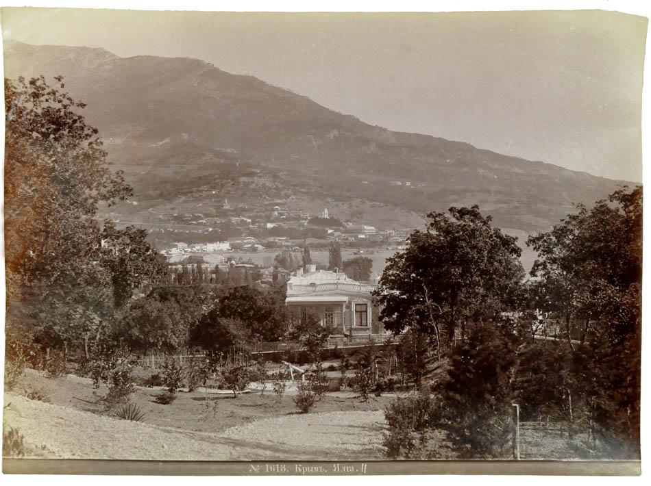Ялта,1880-е. Фотограф Ермаков Д.И. 1845-1916) Ermakov,Yalta, 1880