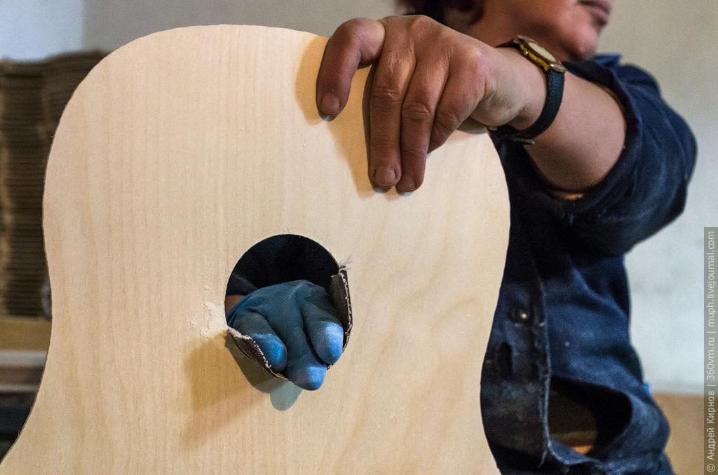 Как делают акустические гитары
