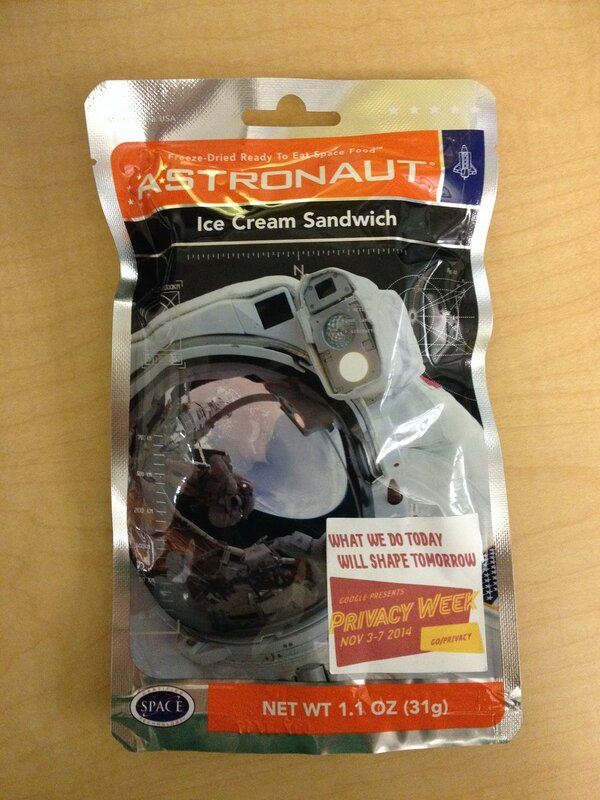 Astronaut Ice Cream Sandwich #1