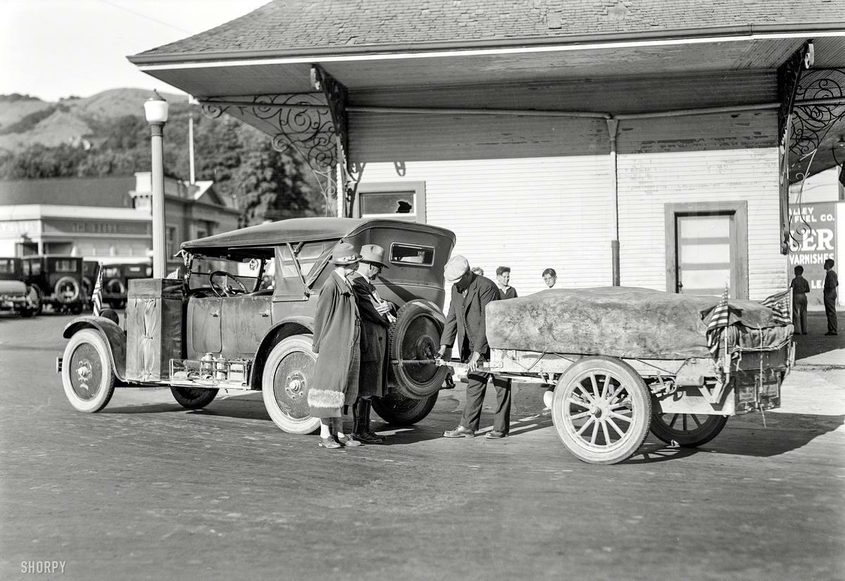 Специализированные транспортные средства начала 20-го века на снимках американских фотографов (49)