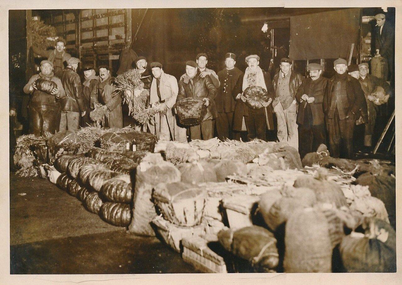 1936. Забастовка торговцев овощами с Ле Аль